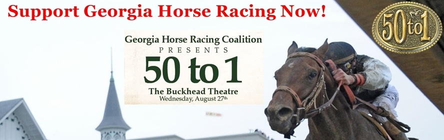 SUpport Georgia Horse Racing and see 50-to1 the Movie