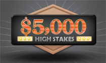 DerbyWars $5,000 High Stakes Game
