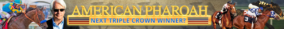 American Pharoah 2015 Triple Crown Contender