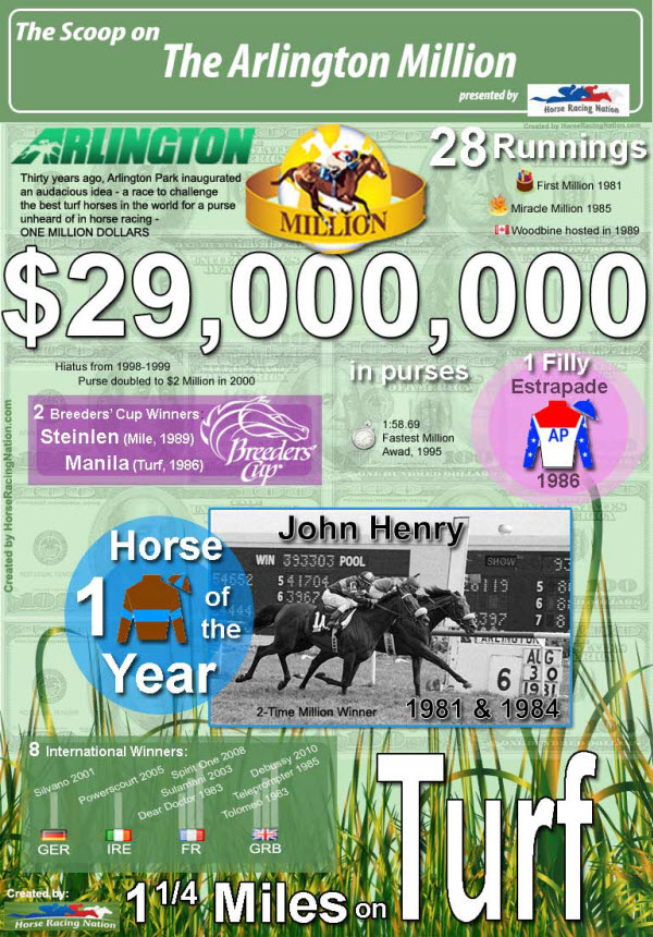 Arlington Million Infographic Fun Facts
