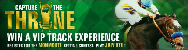 TVG's Capture The Throne Monmouth Betting Contest