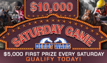 DerbyWars $10,000 Saturday Game
