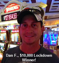 Dan Flanigan, DerbyWars $10,000 Lockdown Winner
