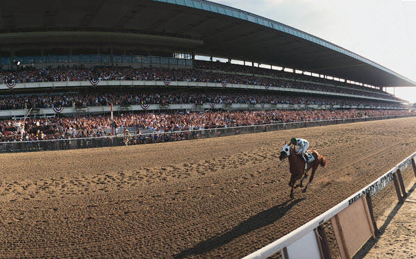 point given belmont stakes