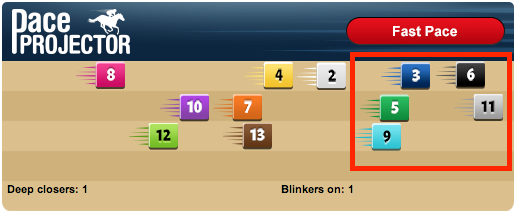 TimeformUS Pace Projector